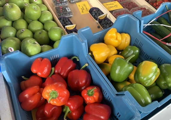 Op zaterdag naar de markt in Kortgene