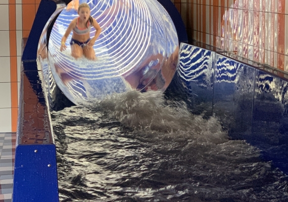 Indoor waterglijbaan